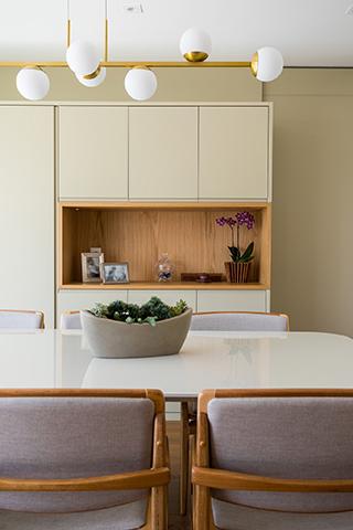Sala de Jantar Apartamento Casal