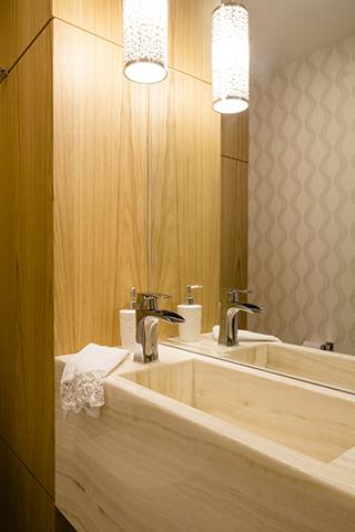 Lavabo apartamento casal