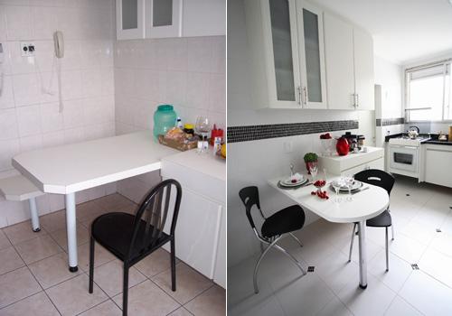 Antes e depois - Cozinha