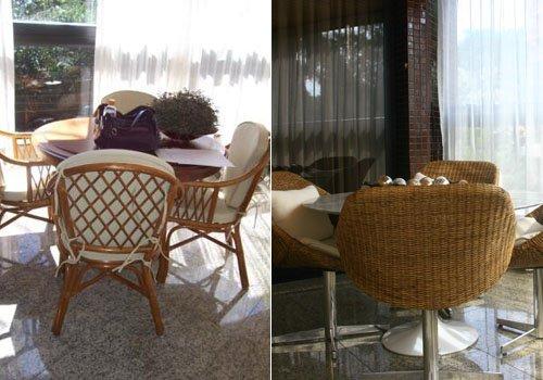 Antes e Depois - Varanda