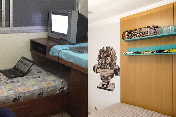 dormitorio verde cama ae
