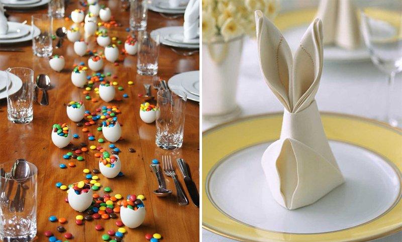 Decore sua mesa para a Páscoa