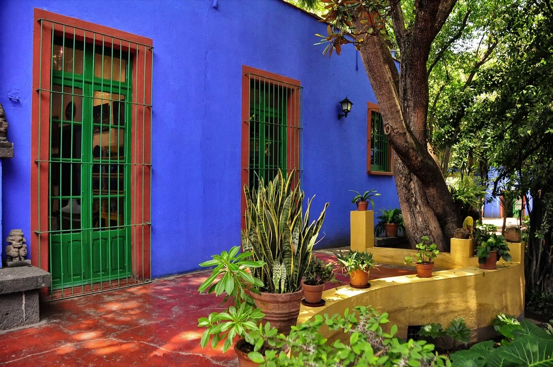 Frida Kahlo CASA AZUL, MEXICO CITY