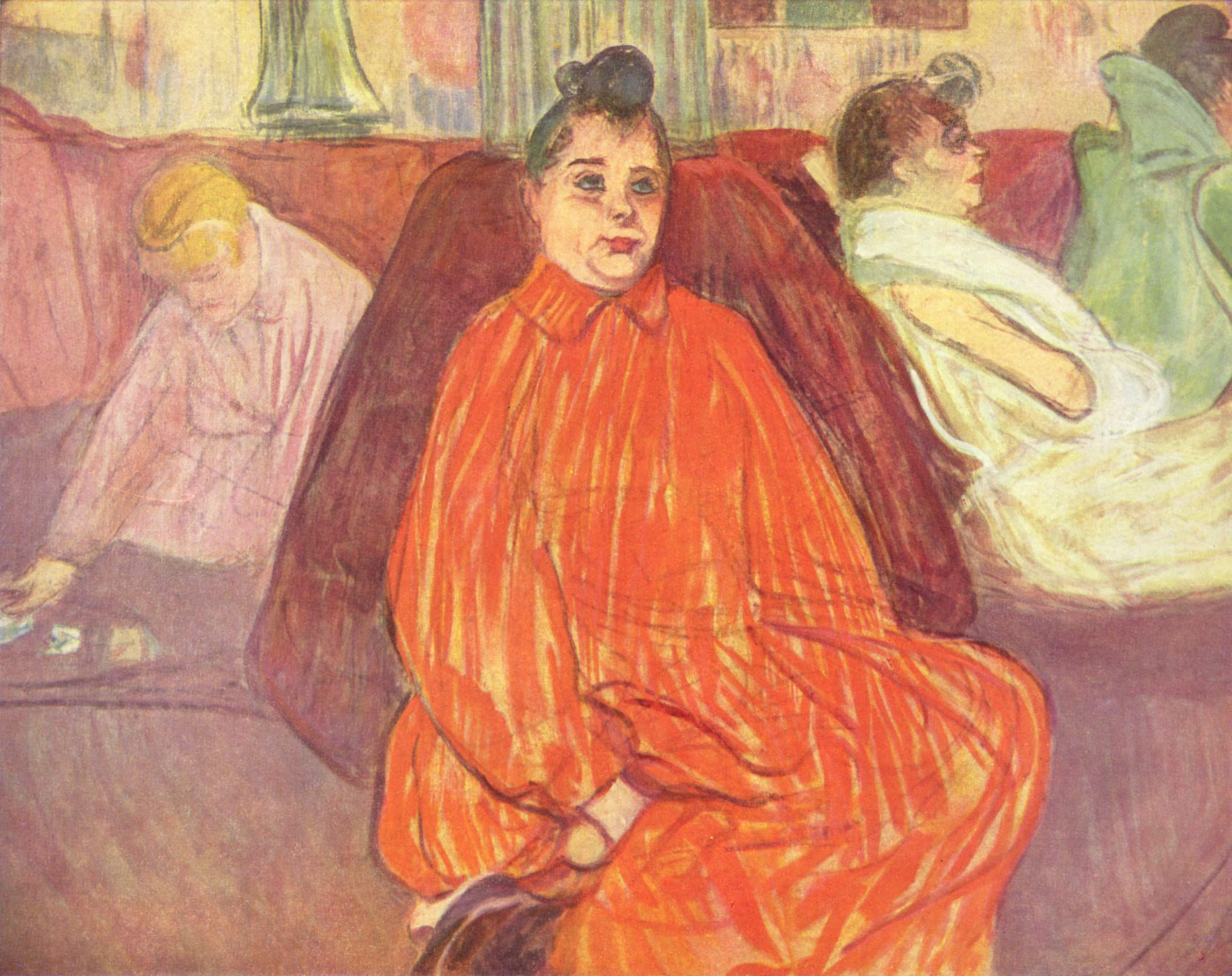 Henri de Toulouse-Lautrec O divã [The Divan], circa 1893, Compra [Purchase], 1958 - Foto: Creative Commons