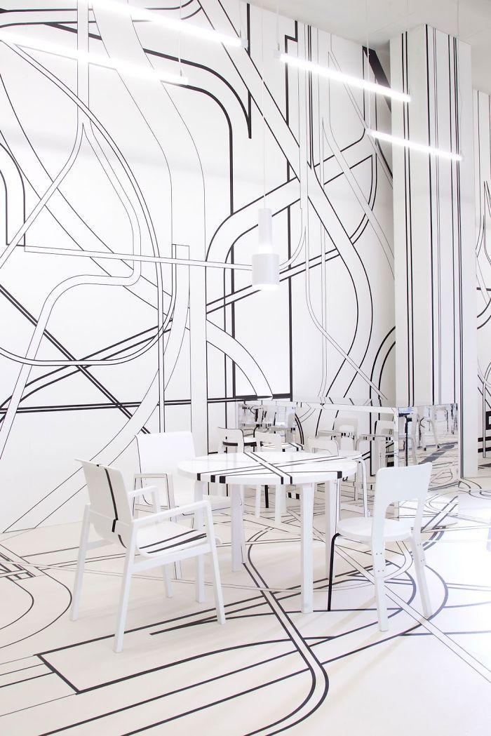 Logomo Cafè, Turku, Finlândia - Projetado por: Tobias Rehberger