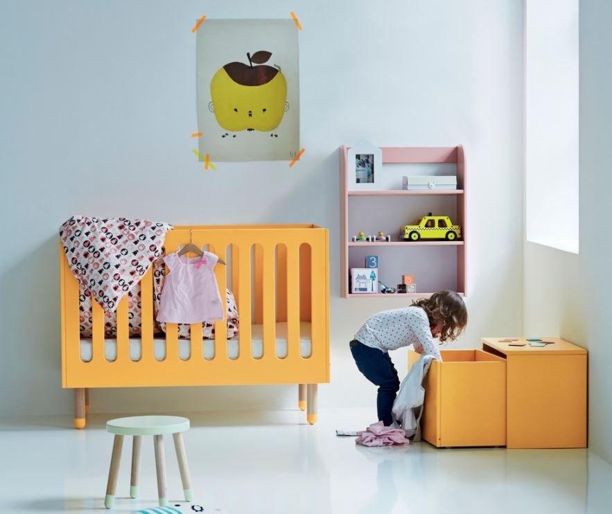 Por que não utilizar cores alegres na mobília?