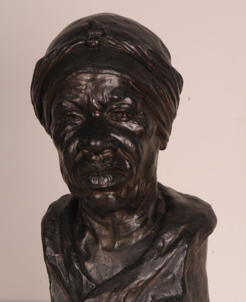 Nicolina Vaz de Assis, Bastiana, 1941, Bronze fundido, 38 x 18 x 18 cm, Museu Nacional de Belas Artes do Rio de Janeiro (Divulgação/Instituto Tomie Ohtake)