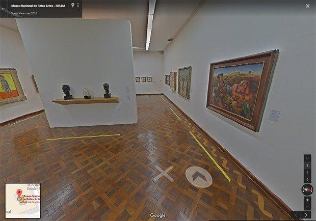 Museu Nacional de Belas Artes, no Rio de Janeiro. (Foto: Reprodução/Google)