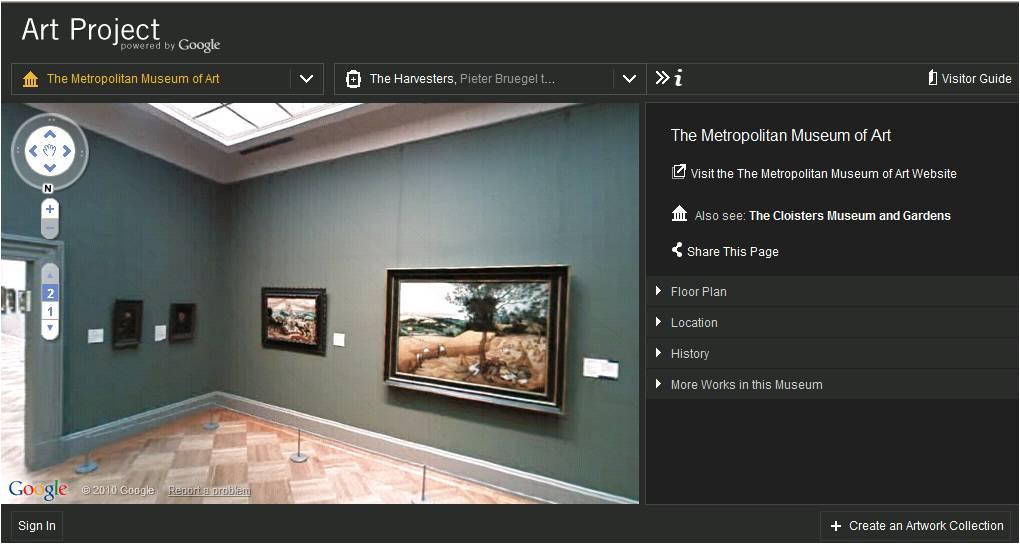 The Metropolitan Museum of Art, em Nova York. (Foto: Reprodução/Google)