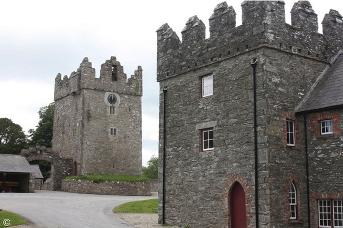 Castelo Ward, na Irlanda do Norte. Foto: Wikimedia user Ardfern  licensed under CC BY-SA 3.0